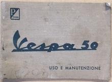 UsoManutenzioneVespa50