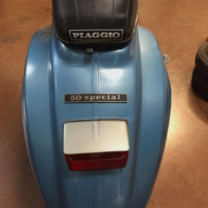 Vespa 50 Special fanale posteriore